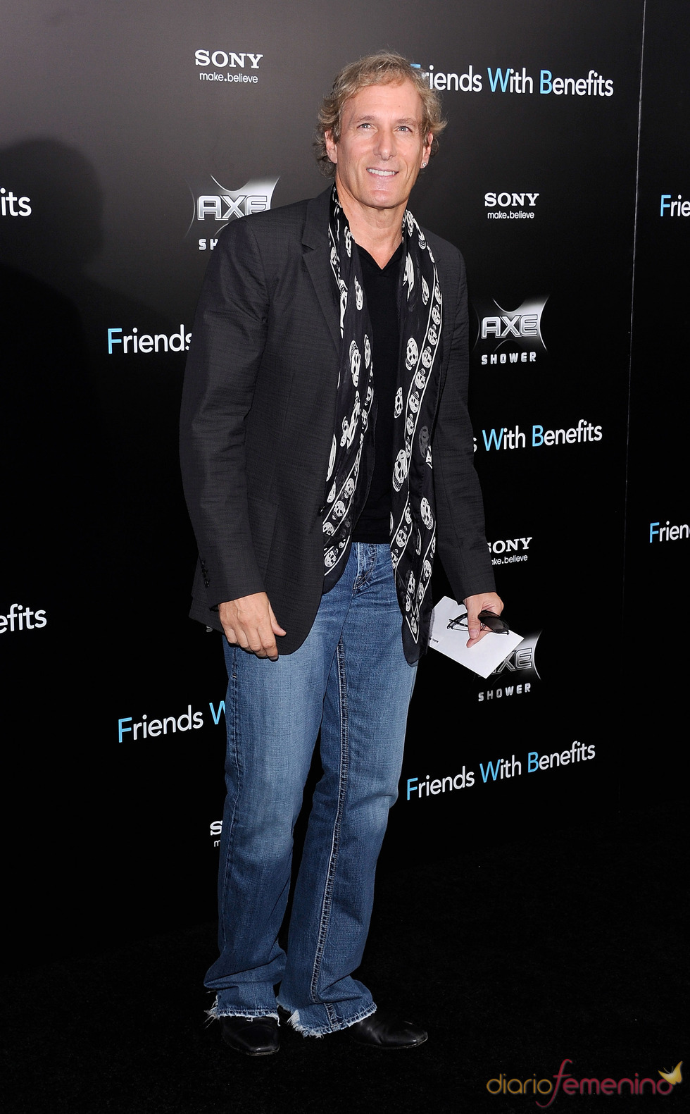 Michael Bolton en el estreno de 'Amigos con beneficios' en Nueva York