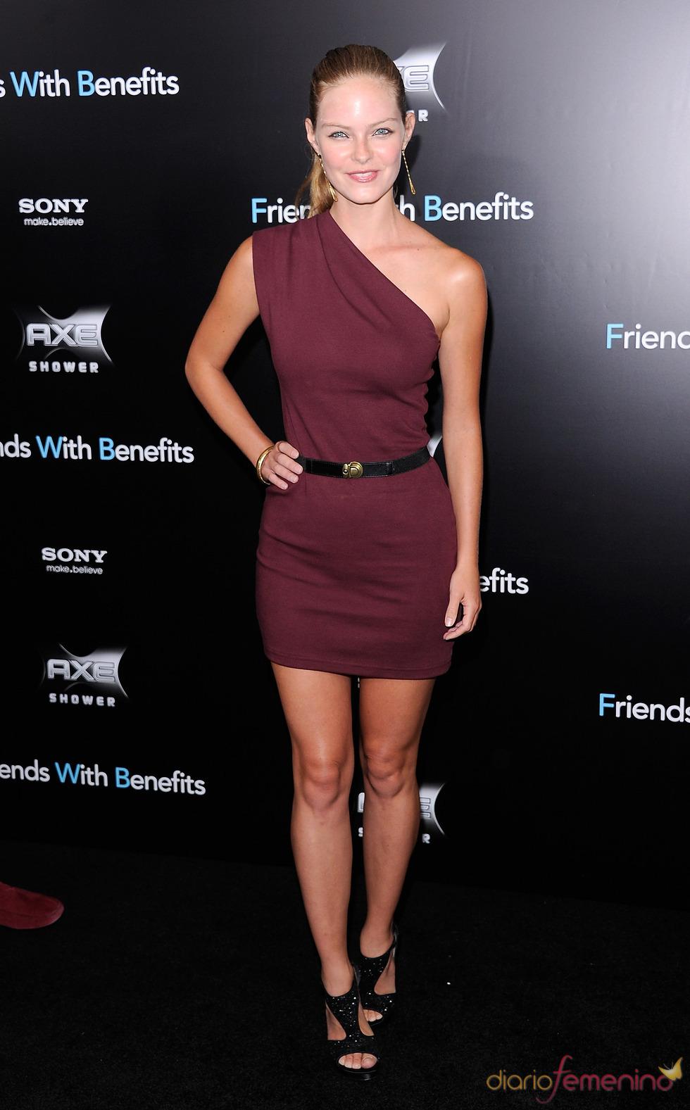 Jessica Perez en el estreno de 'Amigos con beneficios' en Nueva York