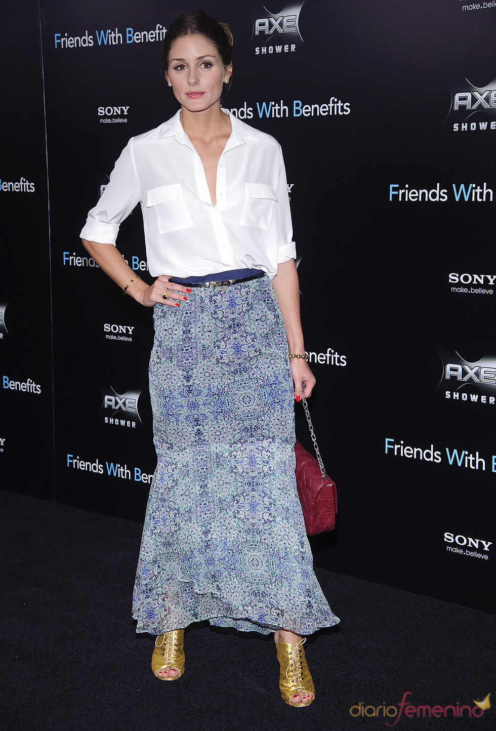 Olivia Palermo en el estreno de 'Amigos con beneficios' en Nueva York