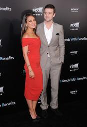Justin Timberlake y Mila Kunis estrenan 'Amigos con beneficios' en Nueva York