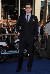 Chris Evans en el estreno de 'Capitán América: el primer vengador' en Los Ángeles