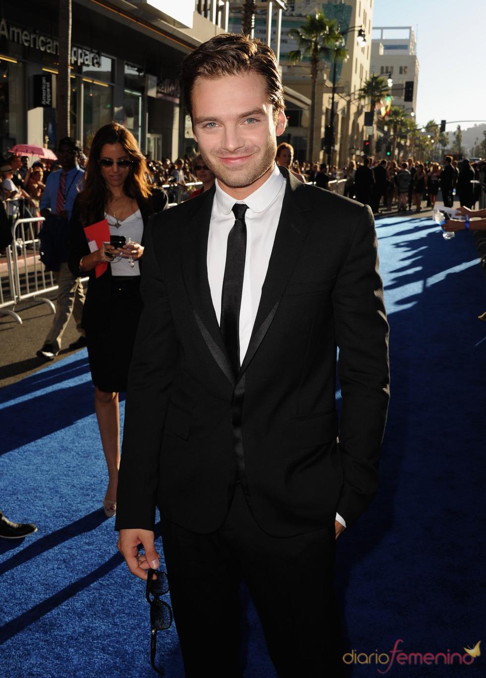 Sebastian Stan en el estreno de 'Capitán América: el primer vengador' en Los Ángeles