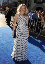 Natalie Dormer en el estreno de 'Capitán América: el primer vengador' en Los Ángeles