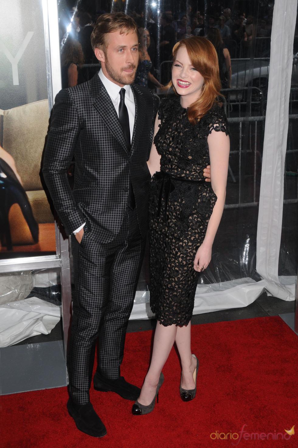 Ryan Gosling y Emma Stone en la premiere de 'Crazy, Stupid, Love' en Nueva York