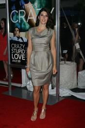 Marisa Tomei en la premiere de 'Crazy, Stupid, Love' en Nueva York