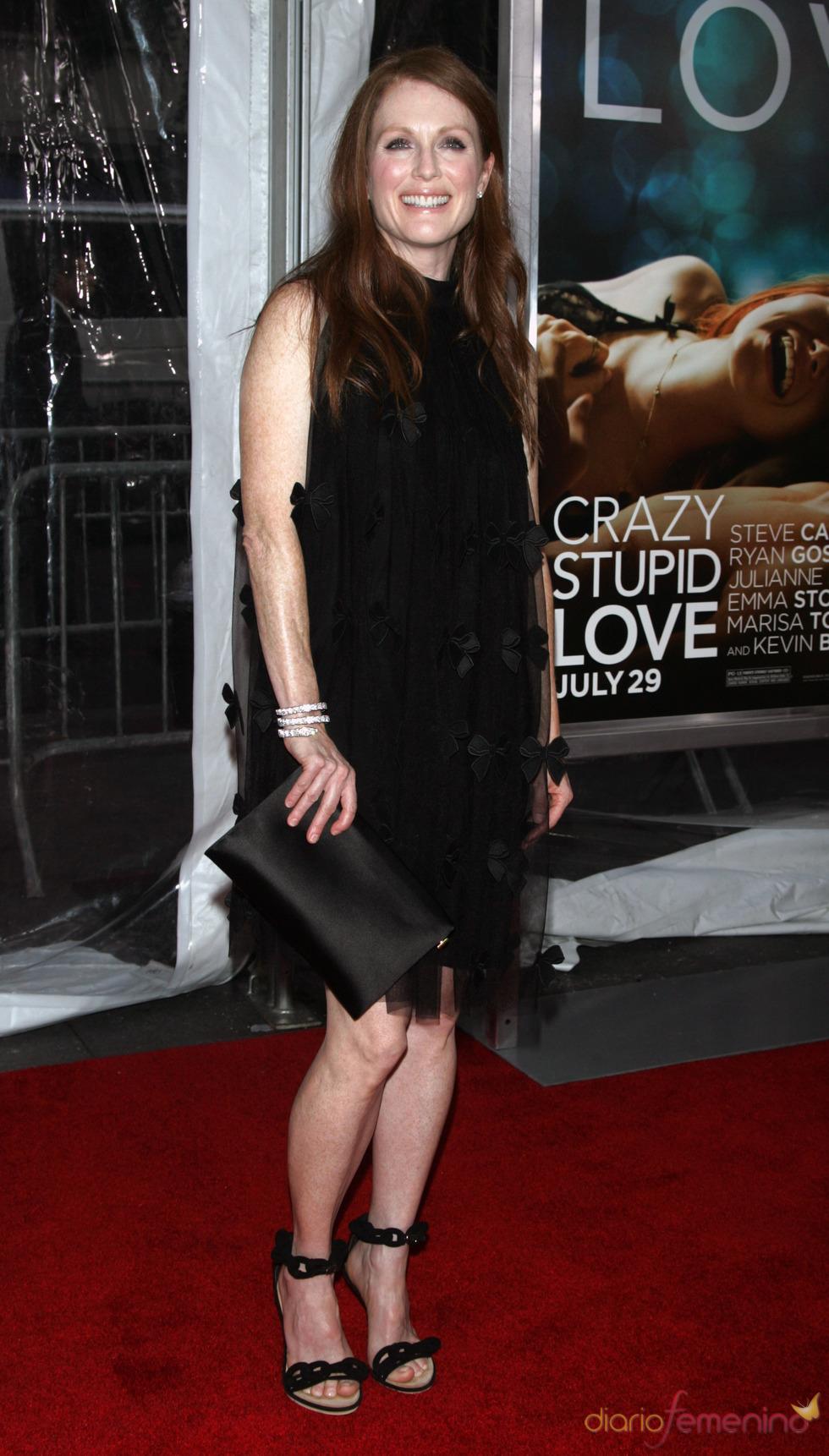Julianne Moore en la premiere de 'Crazy, Stupid, Love' en Nueva York