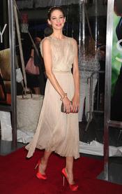 Analeigh Tipton en la premiere de 'Crazy, Stupid, Love' en Nueva York