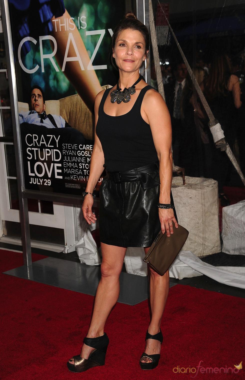 Kathryn Erbe en la premiere de 'Crazy, Stupid, Love' en Nueva York