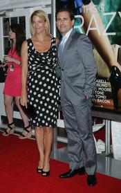Steve Carrell en la premiere de 'Crazy, Stupid, Love' en Nueva York