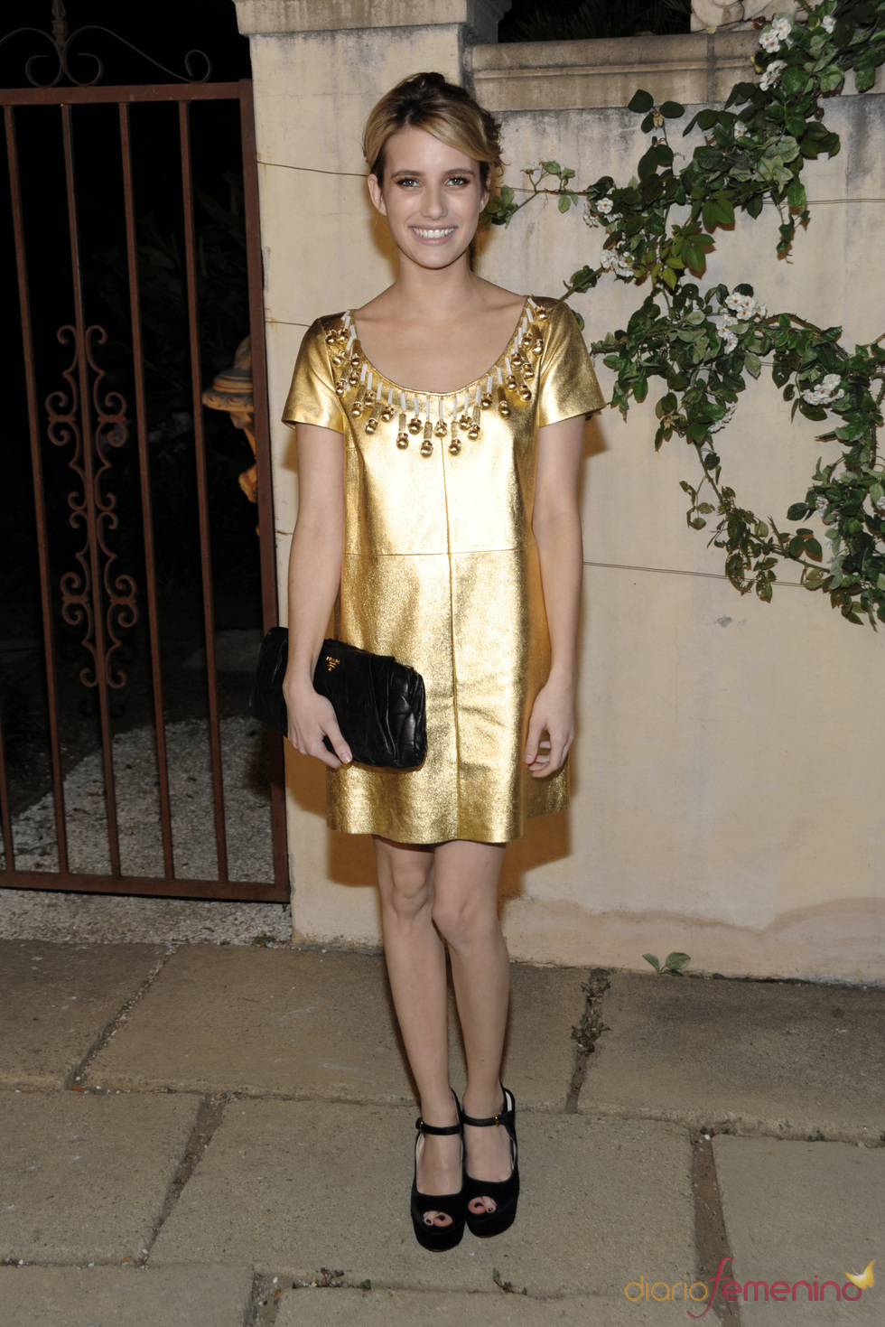 Emma Roberts en la presentación del corto 'Muta'