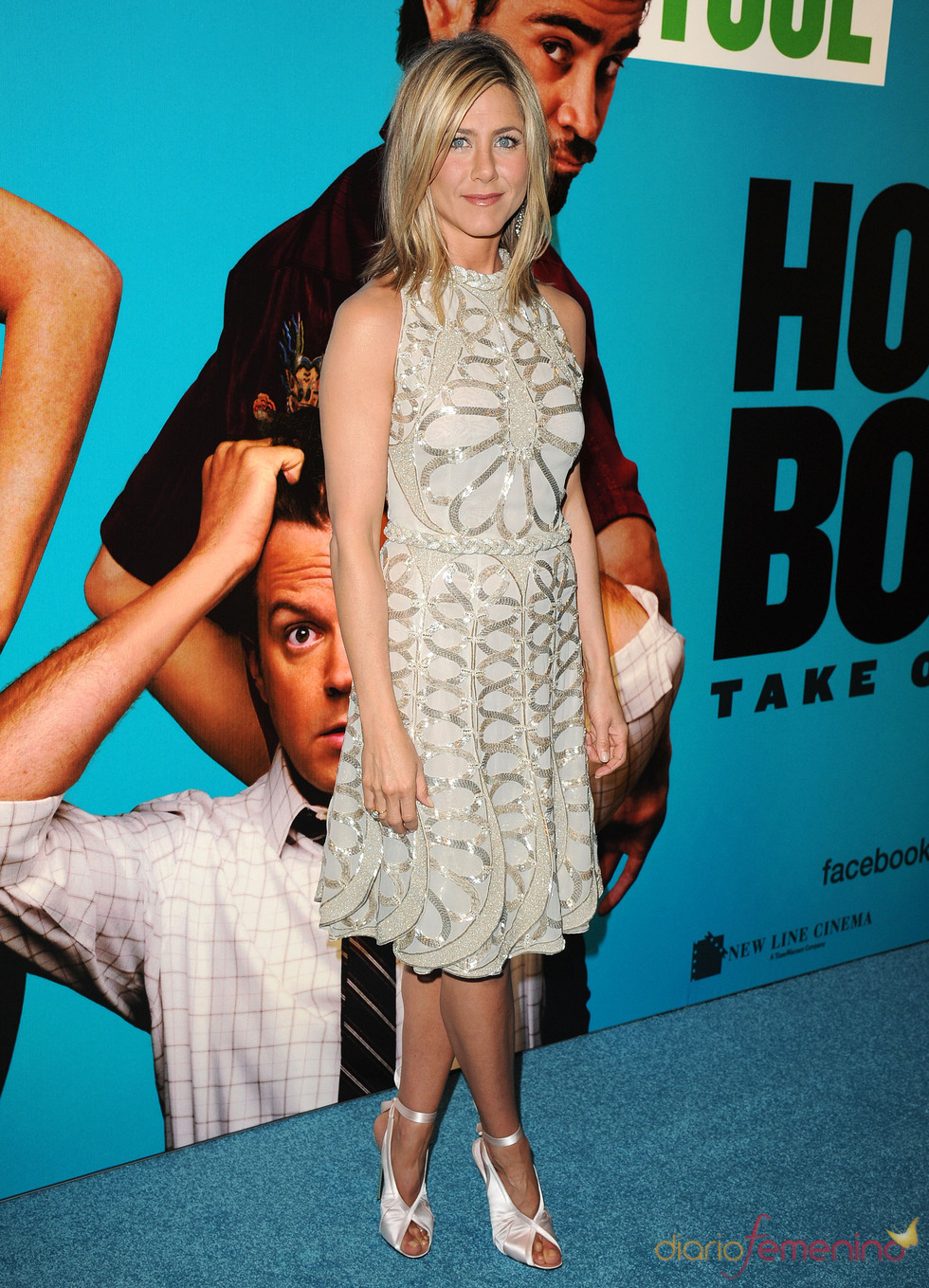 Jennifer Aniston en el estreno de 'Horrible Bosses' en Londres