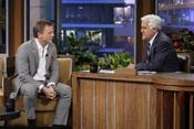 Daniel Craig visita el show de Jay Leno tras haberse casado