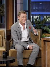 Daniel Craig promociona en el show de Jay Leno 'Cowboys and aliens'