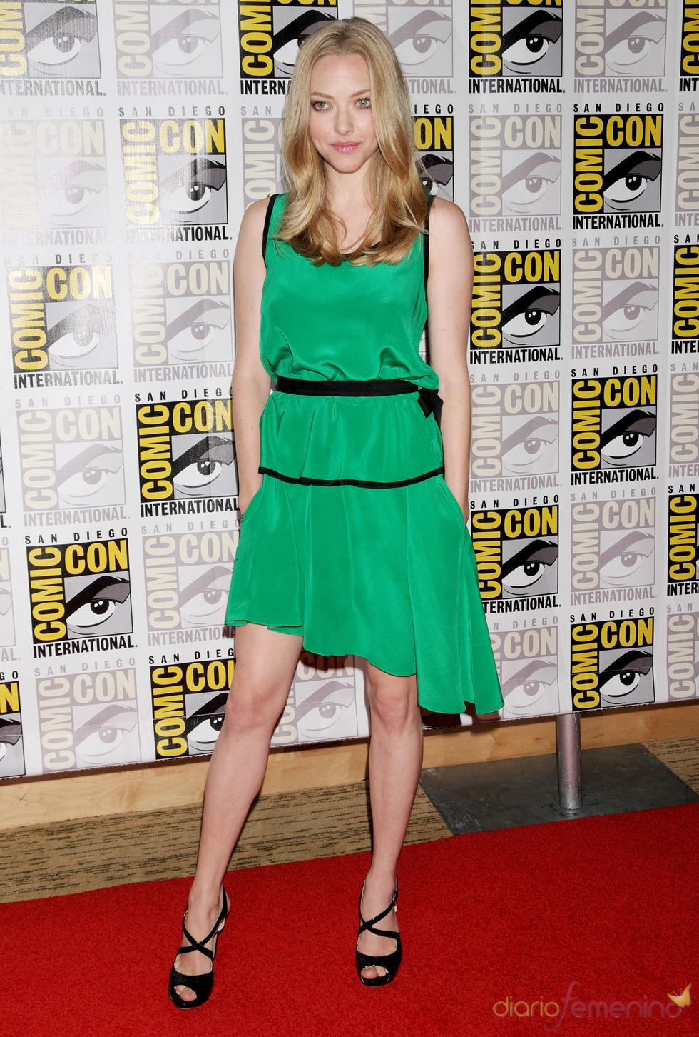 Amanda Seyfried en el Comic Con 2011