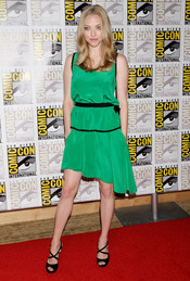 Amanda Seyfried en el Comic Con 2011