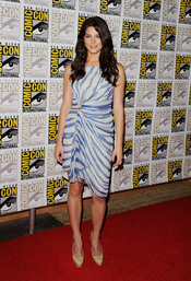 Ashley Greene en el Comic Con 2011