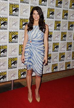 Ahsley Greene en el Comic Con 2011