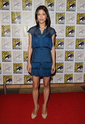 Julia Jones en el Comic Con 2011