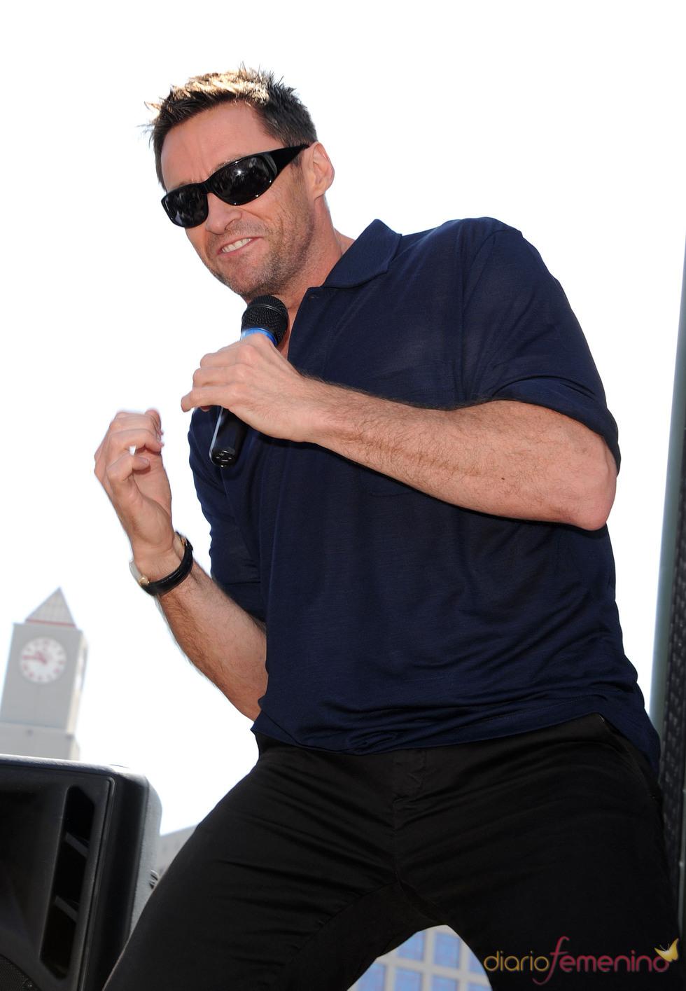 Hugh Jackman en el Comic Con 2011