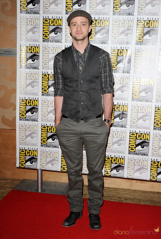 Justin Timberlake en el Comic Con 2011
