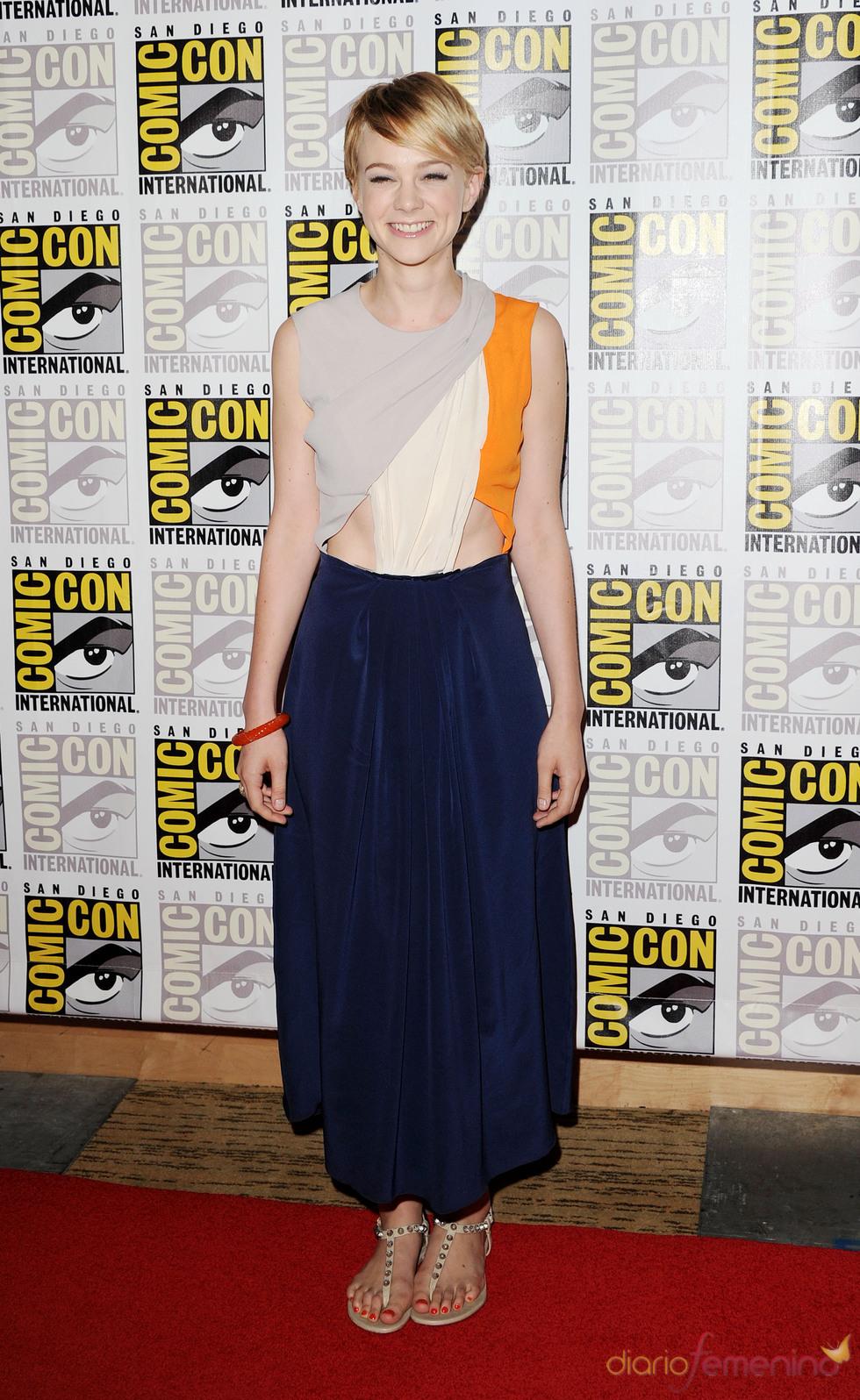 Carey Mulligan en el Comic Con 2011