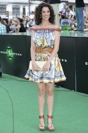 Ruth Gabriel en el estreno de 'Linterna verde' en Madrid