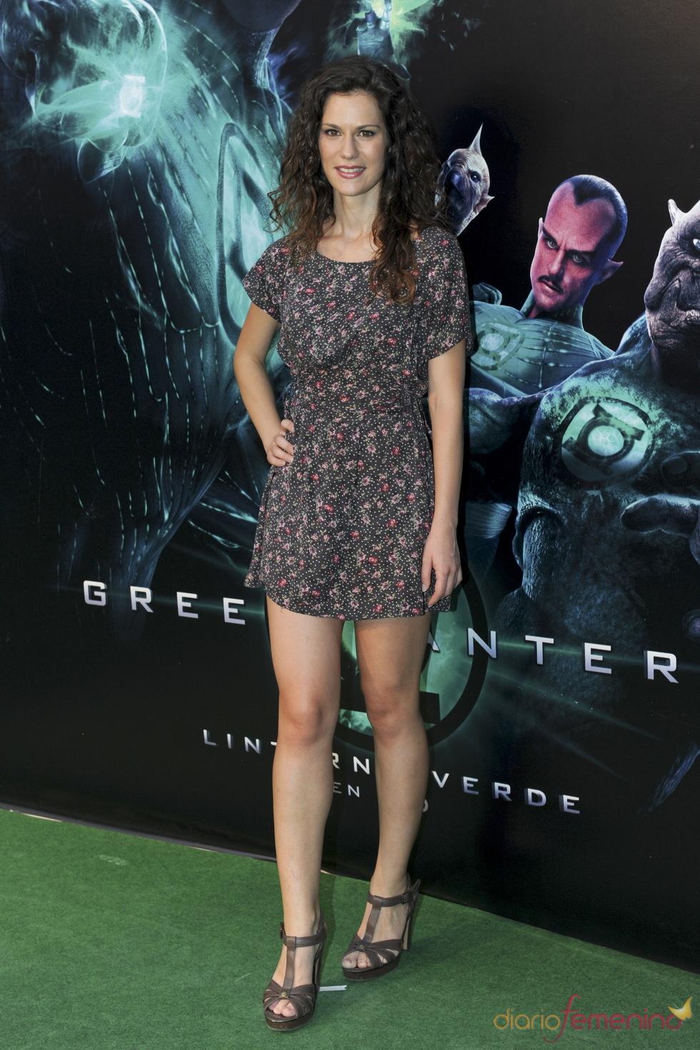Lidia San José en el estreno de 'Linterna verde' en Madrid