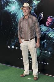 Daniel Freire en el estreno de 'Linterna verde' en Madrid