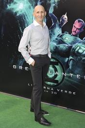 Modesto Lomba en el estreno de 'Linterna verde' en Madrid