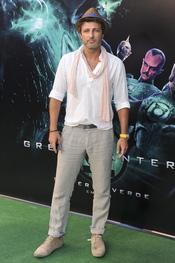 Jesús Olmedo en el estreno de 'Linterna verde' en Madrid