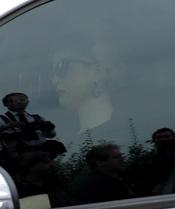 Kelly Osbourne a su llegada al funeral de Amy Winehouse en el cementerio Edgwarebury