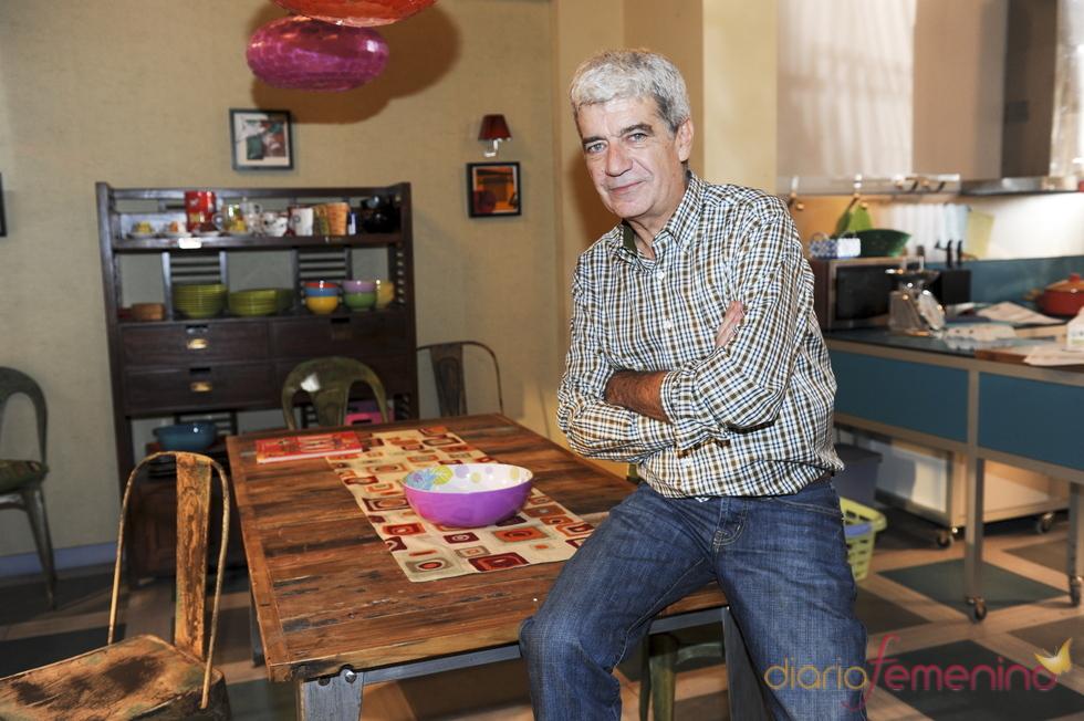 Óscar Ladoire en la presentación de la tercera temporada de 'Los protegidos'