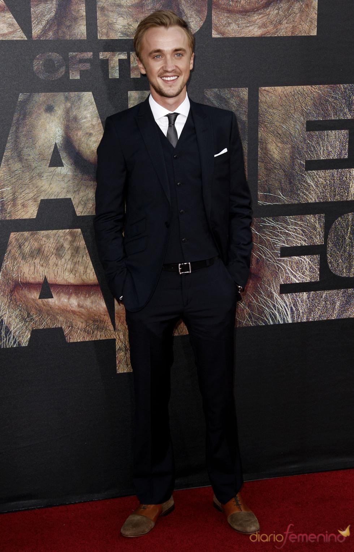 Tom Felton en el estreno de 'El planeta de los simios' en Los Ángeles