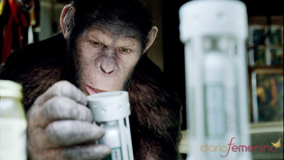 Andy Serkis como Caesar en la película 'El Origen del Planeta de los Simios'