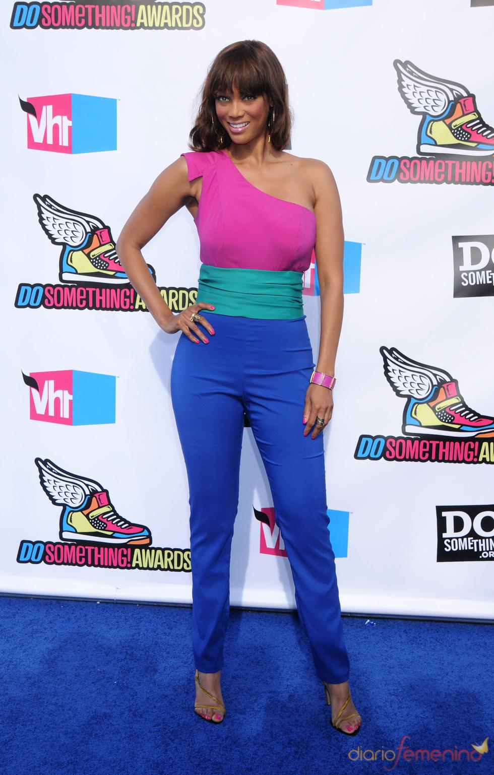 Tyra Banks en la alfombra roja de los 'Do Something Awards' 2011