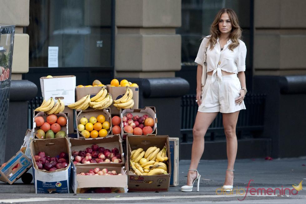 Jennifer López en las primeras imágenes de su videoclip 'Papi'