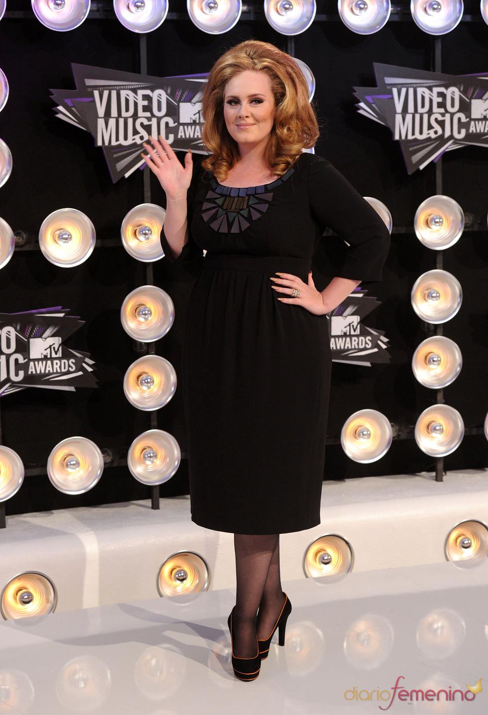 Adele en la gala de los MTV Video Music Awards