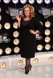 Adele en la gala de los MTV Video Music Awards