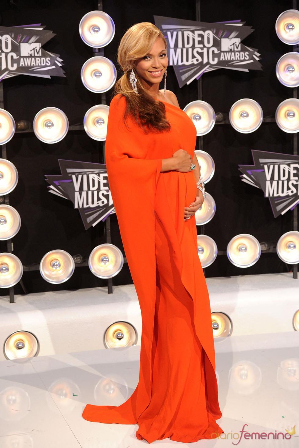 Beyoncé en la gala de los MTV Video Music Awards