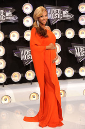 Beyoncé en la gala de los MTV Video Music Awards