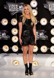 Britney Spears en la gala de los MTV Video Music Awards