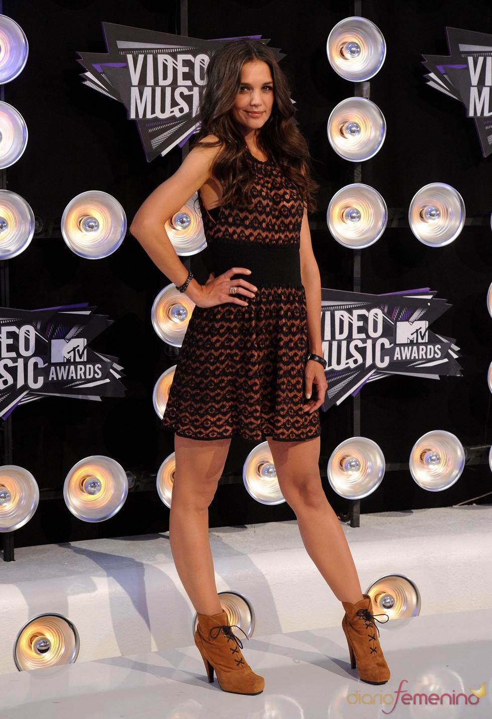 Katie Holmes en la gala de los MTV Video Music Awards