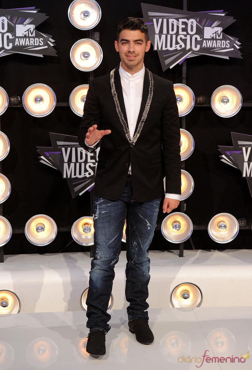 Joe Jonas en la gala de los MTV Video Music Awards
