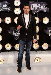 Joe Jonas en la gala de los MTV Video Music Awards