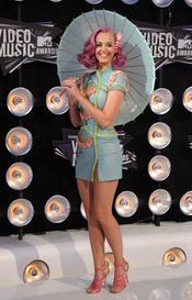 Katy Perry en la gala de los MTV Video Music Awards