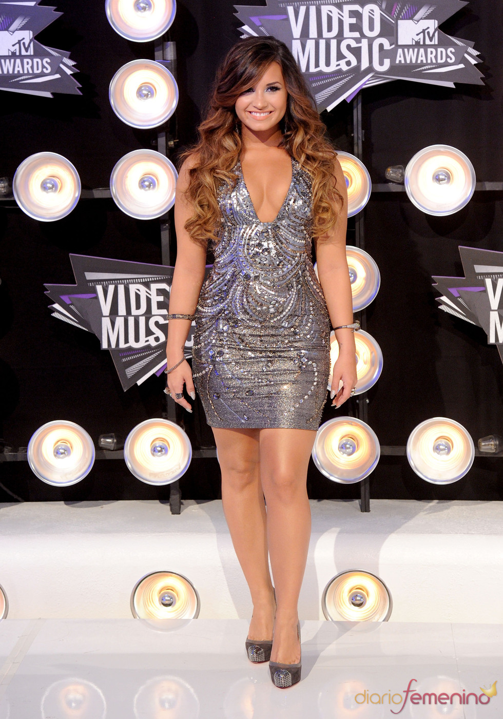 Demi Lovato en la gala de los MTV Video Music Awards