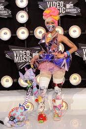Nicki Minaj en la gala de los MTV Video Music Awards