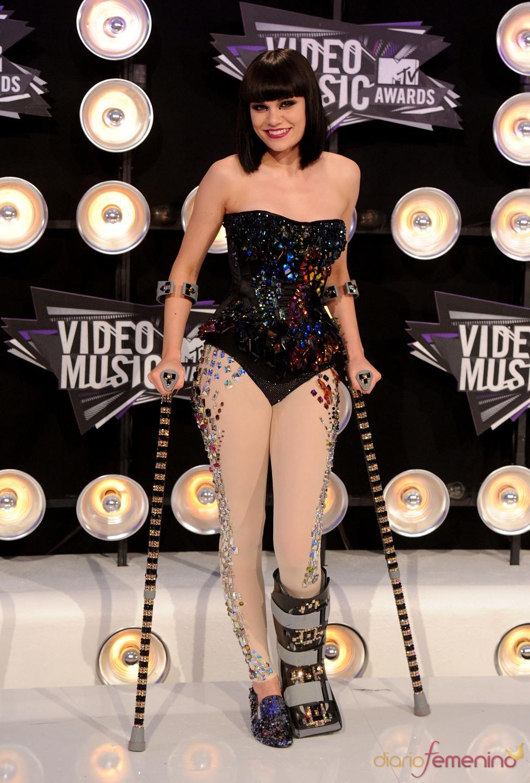 Jessie J en la gala de los MTV Video Music Awards