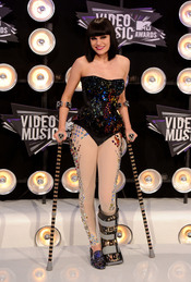 Jessie J en la gala de los MTV Video Music Awards