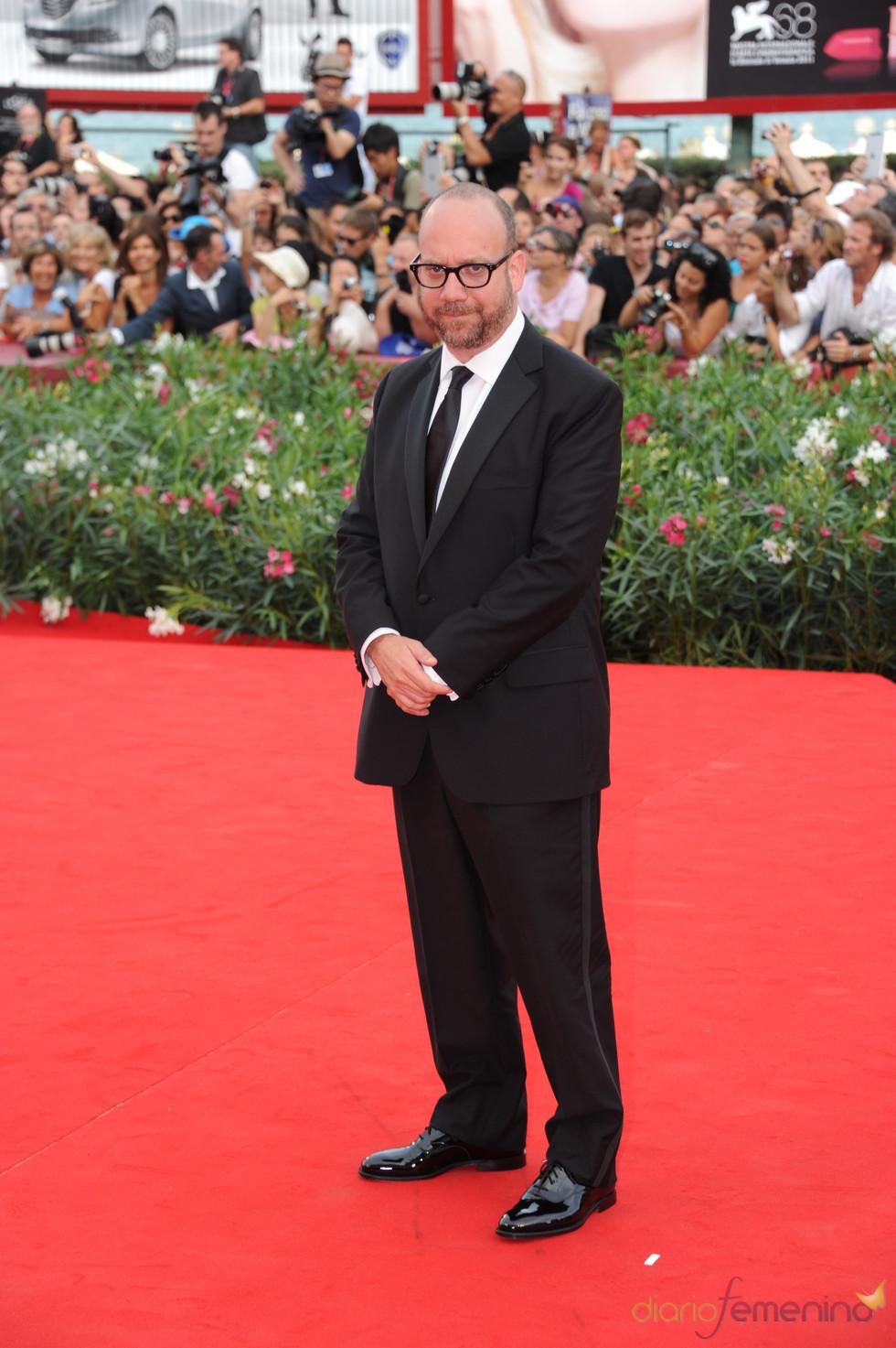 Paul Giamatti llega a la alfombra roja del Festival de Cine de Venecia